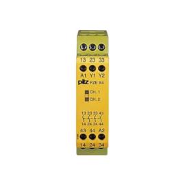 PZE X4 24 VDC biztonsági relé