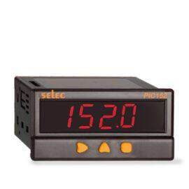 Folyamatjelző, 2x riasztás kimenet, 85-270V, 1/8 DIN