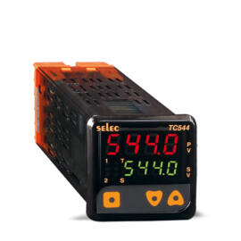 TC544A-CU PID hőmérséklet szabályozó segédrelé kimenettel 1/16 DIN, 85-270V
