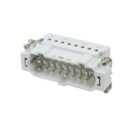16 pólusú szerelhető stekker 500V 16A