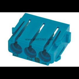 Han-Modular 3 apa/anya Levegő csatlakozó modul 1,6+3+4mm