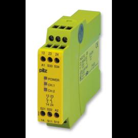 PNOZX2 24 VAC/DC biztonsági relé