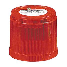 Villogó egység LED 24V piros