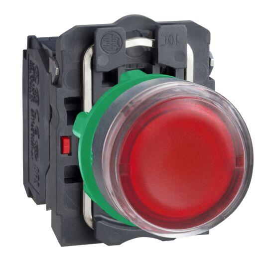 schneider-electric-vilagito-nyomogomb-d22-1no-1nc-nyomogomb-sullyesztett-rugovisszateriteses-piros-xb5aw34b5