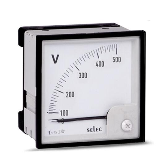 selec-voltmero-analog-0-300v-egyfazisu-96x96m-am-v-3-n-ce